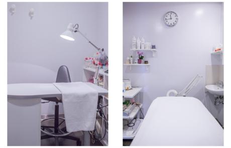 Centro estetico roma Malibu stanza trattamenti mani