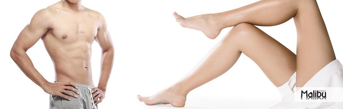 Come funziona la depilazione con resina