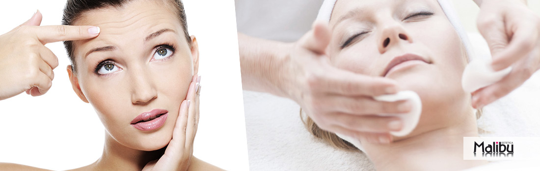 pulizia viso pelle impura grassa, galleria di immagini