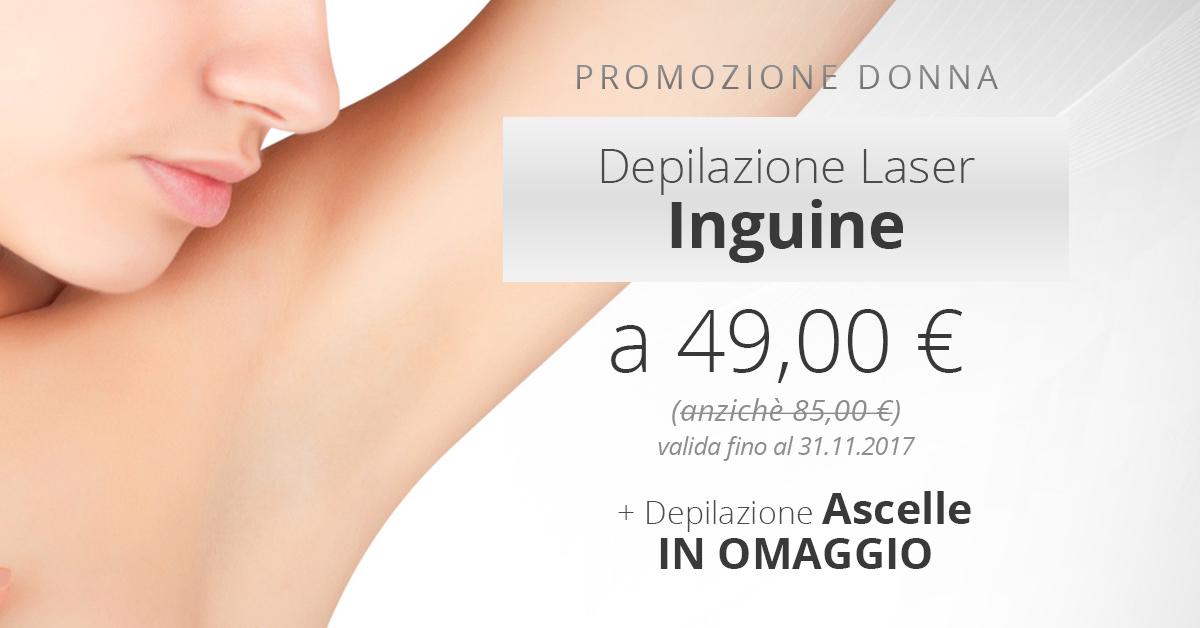 24b240a2d2d0 Depilazione laser Inguine a 49 €! e in OMAGGIO depilazione laser ascelle